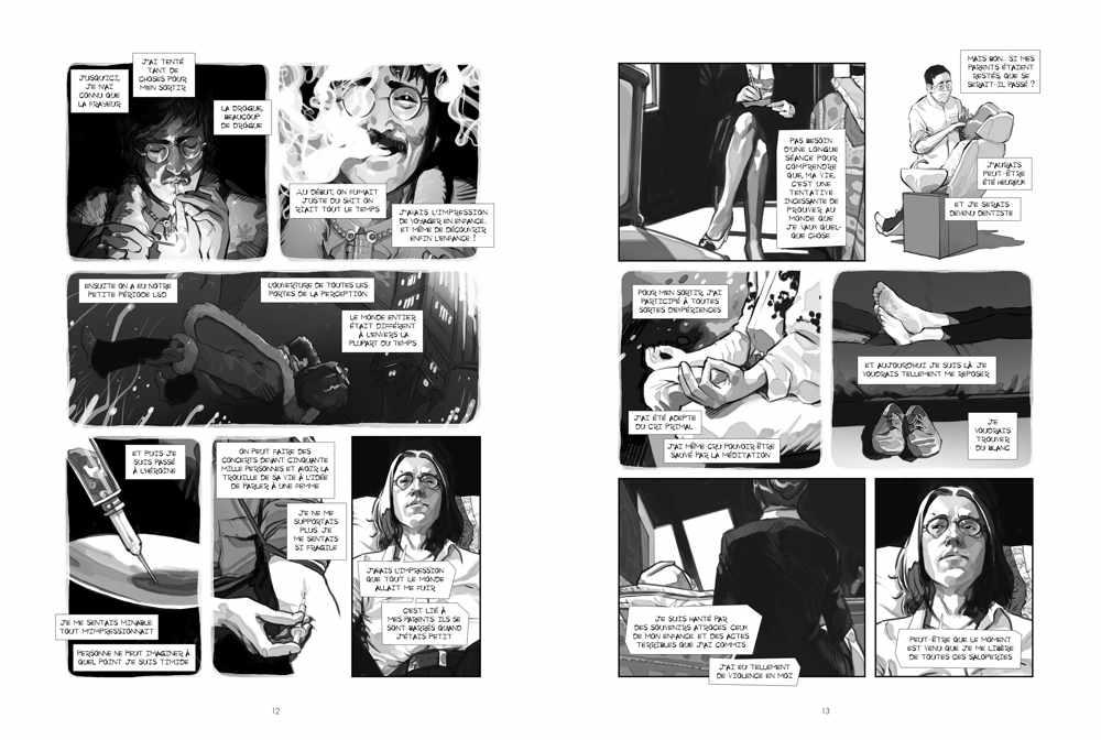 Lennon : un trio de choc pour une brillante thérapie en vignettes